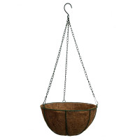 Кашпо подвесное c коковитой, d 25,5 см