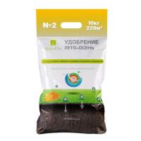 Удобрение для газона ЛЕТО-ОСЕНЬ № 2 (10 кг)